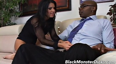 Monster, Monster black cock, Monster cumshot, Monster black, Brunette milf, Black monster cock