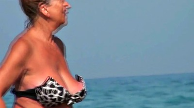 Beach, Saggy, Compilation mature, Granny compilation