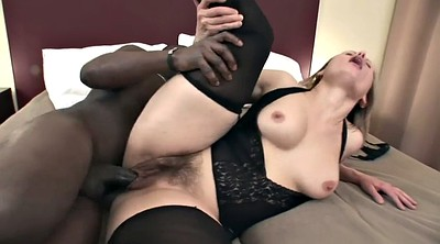 Interracial, Mature blowjob