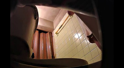 Spy cam, Bathroom hidden cam, Spying