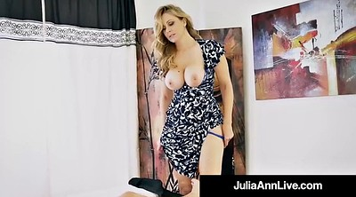 Julia ann, Mother son, Julia, Step son, Public, Hot milf