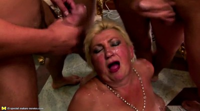 Mature nl, Granny group, Mature gangbang