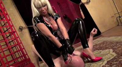 Latex, Choke, Mistress feet