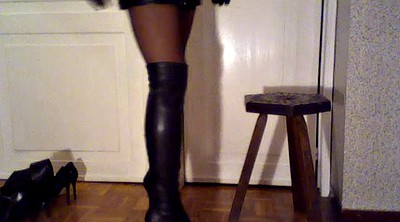 Flash, Shoe, Leather, Glove, Italian, Boots fetish