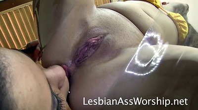 Facesitting, Spreading, Lesbians ass licking