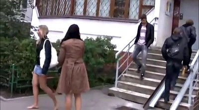 Walking, Russian girl, Walk, Foot girl