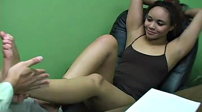 Office, Armpit, Cumming, Cum on feet, Armpits