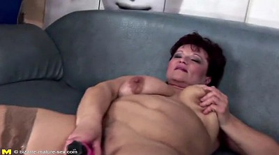 Old and young, Granny pissing, Lesbian mother