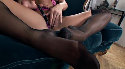 Stockings, Stocking, Panty, Czech milf