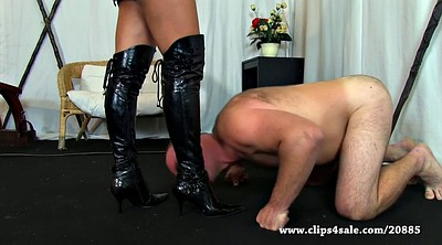 Boot, Violet, Dominant, Female domination, Femdom boot
