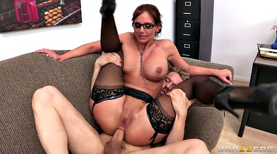 Phoenix marie, Glasses, Teachers, Threesome stocking, Teacher stockings, Stockings office