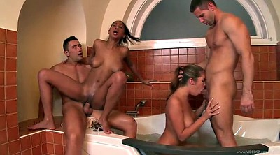 Double, Anal group, Double blowjob