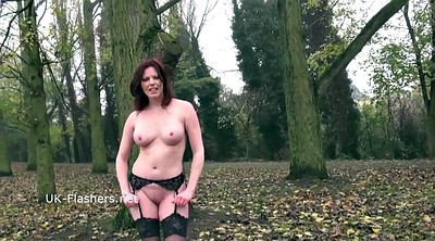 Holly, Naked public, Mature dildo