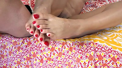 Feet, Mature feet, Youngs