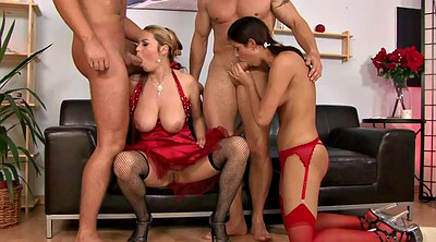 Double pussy, Anal group