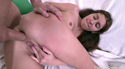 Teen anal, Anal creampie