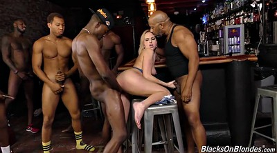 Kate englande, Kate england, Bar, Interracial gangbang, Offer