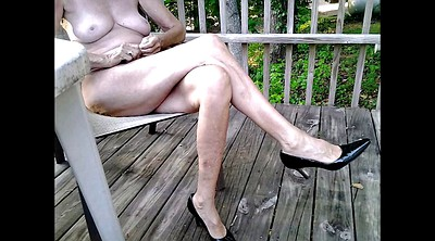 Mature, Shoe, Shoes feet, Mature feet