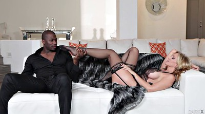 Julia, Monster cock, Interracial mature