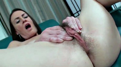 Hairy mature, Spread pussy