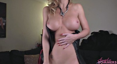 Angela, Undress, Tits big