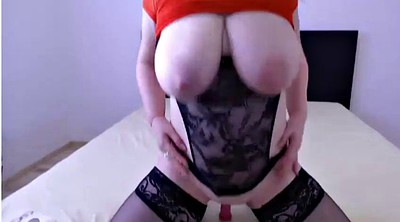 Dildo, Milky, Mature webcam