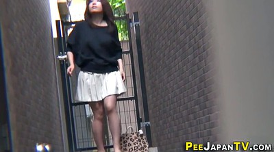 Peeing public, Public pee, Pissing outdoor, Asian piss