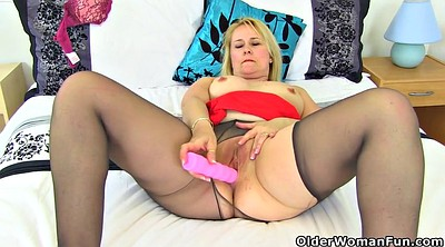Milf pantyhose, British