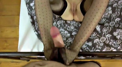 Footjob, Nylon footjob, Footjob nylon, Nylon foot fetish, Nylon feet, Costume