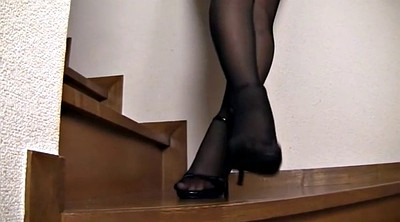 Japanese pantyhose, Japanese black