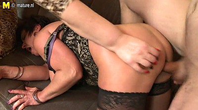 Old and young, Young milf, Mom pov