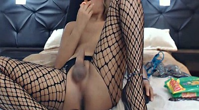 Ass, Shemale dildo, Shemale sex, Blonde ass, Shemale lingerie, Large cock