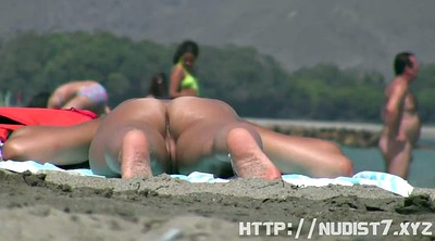 Shy, Public caught, Nudist beach, Nudist