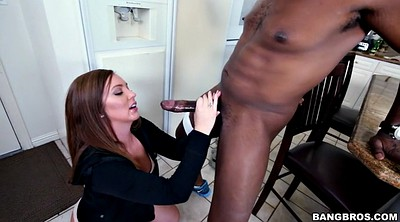 Black, Black cock, Teen mouth