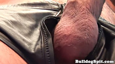 Masturbating, Leather