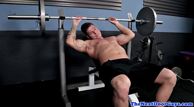 Gym, Amateur masturbation, The gym, Solo gay