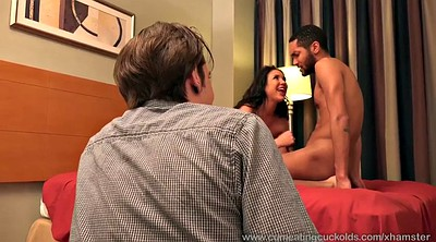 Cum and eat, Husband bisexual, Husband and wife, Wife cheat, Wife and black, Cum eating cuckold