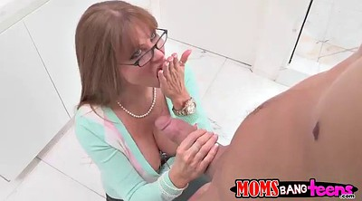 Daughter, Mom handjob