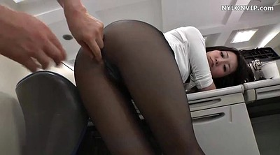 Pantyhose, Japanese office, Japanese pantyhose, Secretary, Pantyhose sex, Japanese nylon