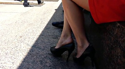 Upskirt, Shoe, High heels