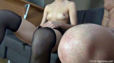 Indian, Nylon, Nylon foot, Lady dee