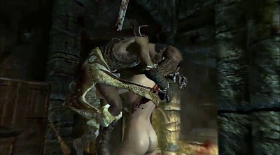 Cartoon, Skyrim, Bdsm gangbang
