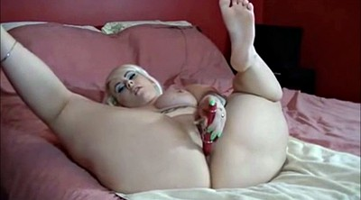 Masturbating, Music, Blonde bbw
