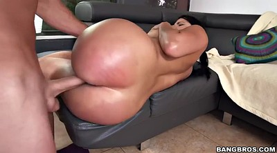 Kitty, Sit on face, Oil ass, Latina riding