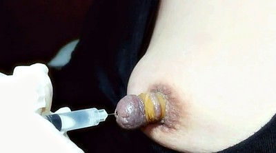 Japanese bdsm, Injection, Play nipple, Inject, Nipple play, Japanese nipple