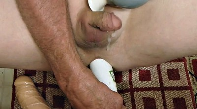 Ruined, Anal cumshot, Gay sex toy