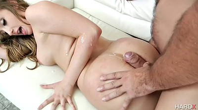 Thick anal, White ass, Big white ass, Jade anal, Harley, Big white cock