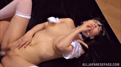 Maid, Japanese gangbang, Japanese maid