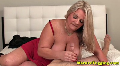 Milk, Milking, Mature handjob, Busty milf, Milks, Milk tits