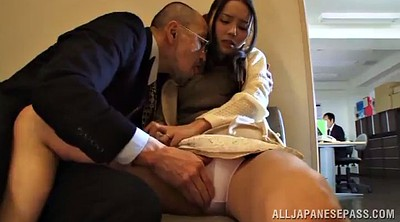 Skirt, Vibrater, Moan, Naughty office